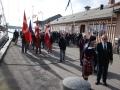 Med Lars Foldager samt sin sækkepibe under armen marcherede vi derefter til vort nye domicil, Færgevejen 5.