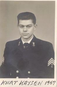 Kurt Kaysen 1957
