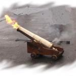 Kanon med ild