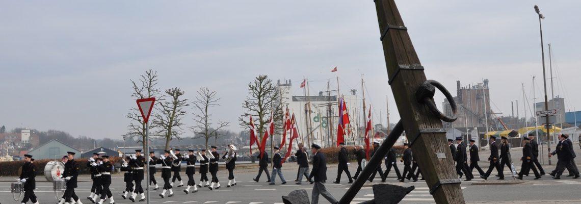 #Søværnets march 100 års jubilæum