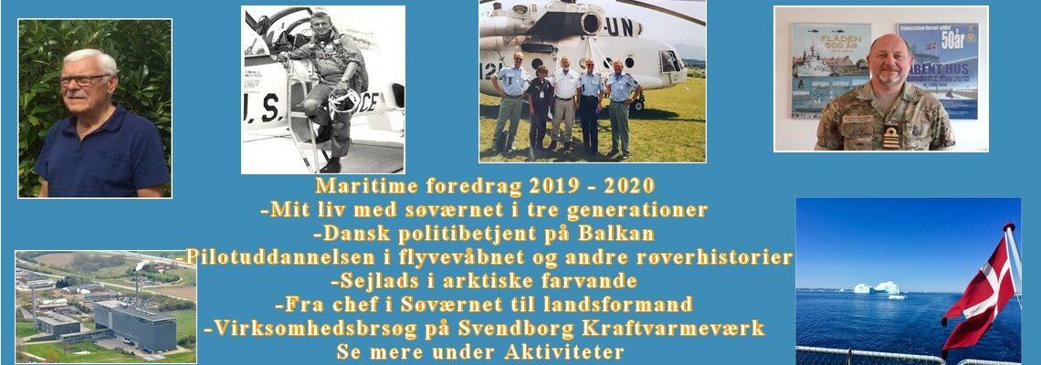 #Maritime foredrag 2019 2020